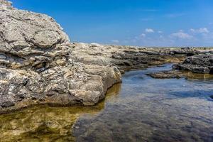 l'attrazione del mantello tarkhankut della Crimea foto