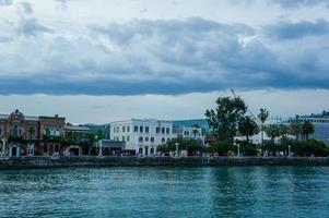 paesaggio della città con attrazioni. foto