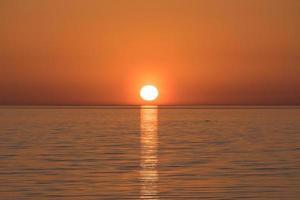 lo sfondo naturale del paesaggio marino foto