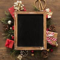 cornice per foto di decorazioni natalizie