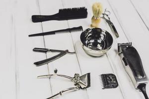 attrezzature professionali per barbiere foto