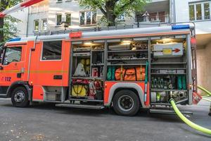 camion dei vigili del fuoco foto