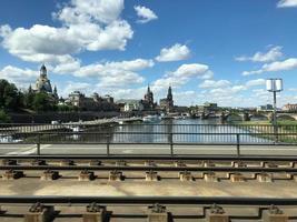 vista panoramica di Praga foto