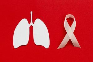 segno di medicina con forma di polmoni. alta qualità e risoluzione bellissimo concetto di foto