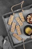 snack bar con vista dall'alto foto