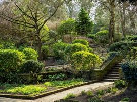 Parco Peasholm a Scarborough North Yorkshire, Inghilterra foto