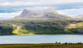 vista panoramica in Scozia foto