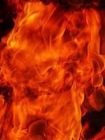 fuoco fiamme texture di sfondo foto