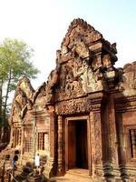 rovine di angkor wat a siem reap, cambogia foto