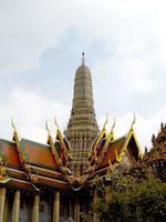 tempio di wat phra kaew a bangkok foto