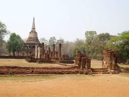 parco storico di si satchanalai sukhothai thailand foto