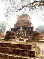 parco storico di sukhothai thailandia foto