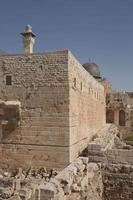 Al Aqsa El Marwani Solomons Scuderie moschea nella città vecchia di Gerusalemme in Israele foto
