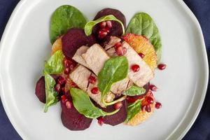 assortimento di alimenti dietetici flessibili facili foto