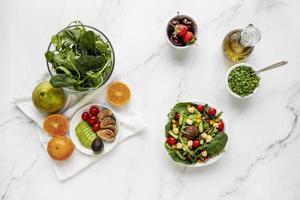 la disposizione alimentare della dieta flessibile foto