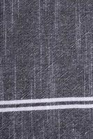vista dall'alto della trama del tessuto foto