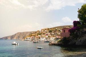 isola di cefalonia in grecia foto