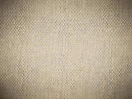 sfondo texture tela di sacco con una vignetta scura foto