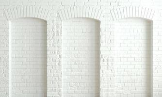sfondo scuro archi in mattoni parete loft foto