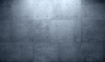 muro grigio cemento monolitico sfondo costruzione industriale foto