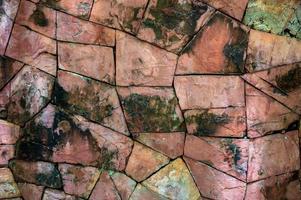 sfondo di pietra rotta foto