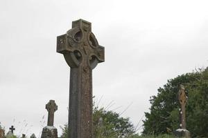 croci e cimitero a Bantry West Cork in Irlanda foto