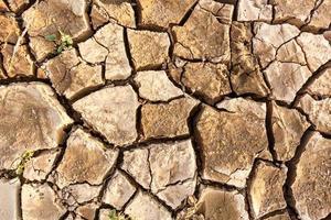 struttura del terreno crepa foto