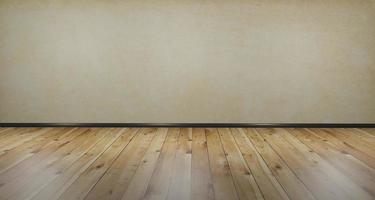 sfondo e pavimento in legno, illustrazione 3d foto