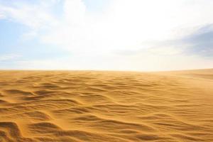 onda sul deserto mui ne deserto del Vietnam del sud foto