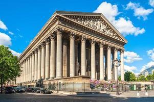 la chiesa della madeleine a parigi francia foto