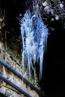 lampadari di ghiaccio zero foto