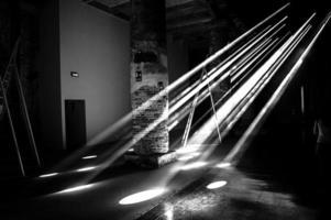 raggi di sole in camera foto
