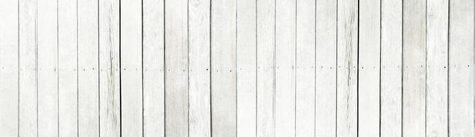 il vecchio bianco listello in legno pattern texture di sfondo foto