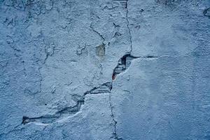 vecchio muro di pietra blu con texture di sfondo foto