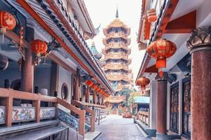 tempio e pagoda che chin khor a bangkok foto