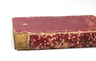 vecchio libro di carta foto