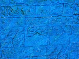 primo piano di pietra blu o parete di roccia per lo sfondo o la trama foto