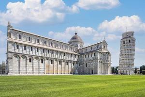 torre pendente di pisa in italia foto