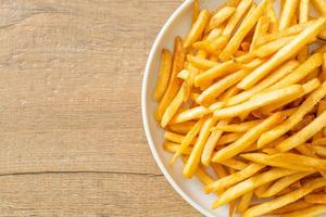 patatine fritte o patatine fritte foto