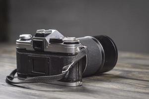 illustrazione retrò collezione primo piano macchina fotografica d'epoca foto