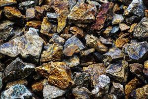 primo piano delle rocce di granito foto