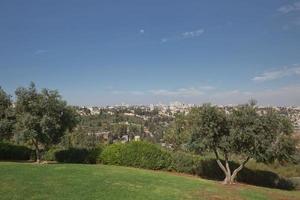 città di gerusalemme in israele foto