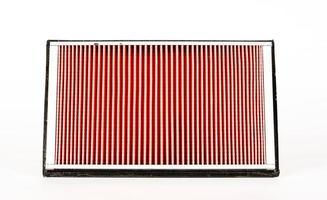 foto nitida del filtro della presa d'aria del motore