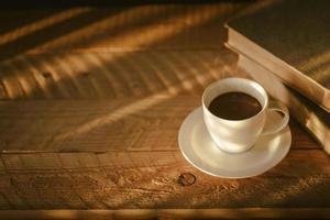 mattina con tazza di caffè coffee foto