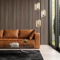 3d ha reso l'interior design moderno foto