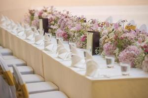 la tavola elegante foto