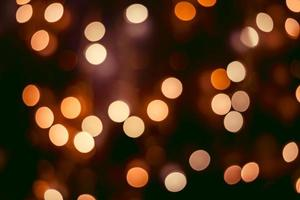 sfondo bokeh, luci sfocate foto