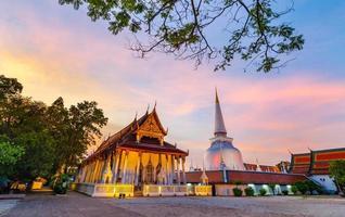 Wat Phra Mahathat Woramahawihan Nakhon Sri Thammarat Thailandia foto