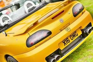 Southport, Inghilterra, Regno Unito, settembre 09, 2017 - lancashire tradizionale car show foto