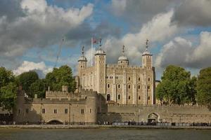vista della torre di londra, londra, regno unito foto